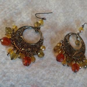 Jewelry - Gemstone Dangle earrings